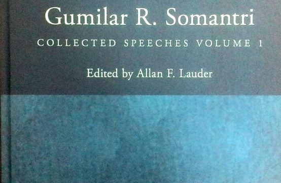 Collected Speeches by Gumilar R Somantri