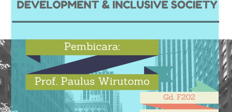 Defining Social Urban Development and Inclusive Society
