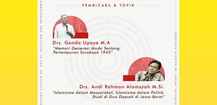 Diskusi Publik RC 06 – Power and Social Transformation